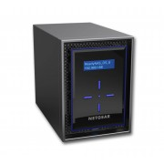 Netgear RN422D2 ReadyNAS 422 Server NAS 2 alloggiamenti 4 TB HDD 2 TB x 2 RAID 0,1,5,6,10 JBOD RAM 2 GB Gigabit Ethernet iSCSI