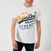 Superdry Men's Vintage Authentic XL T-Shirt - Optic - M - White