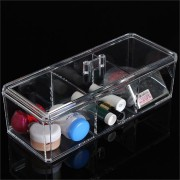 Acrylic Clear Make Up Organizer Cosmetic Display Jewellery Drawers Storage Case