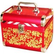 Pride Crown to store cosmetics Vanity Box (Red)