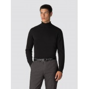 Ben Sherman Main Line Black Roll Neck Jumper Medium Black