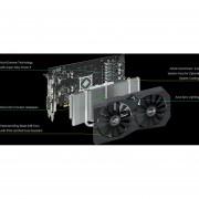 TARJETA DE VIDEO ASUS ROG-STRIX-RX570-O4G-GAMING RX 570 OC 4GB GDDR5