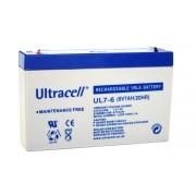 Akumulator Ultracell SLA 6V 7Ah