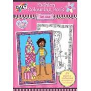 Carte de colorat Fashion