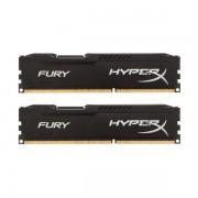 Memorie HyperX Fury Black 16GB DDR3 1600 MHz CL10 Dual Channel Kit