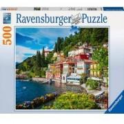 Пъзел Ravensburger 500 елемента, Езерото Комо, Италия, 7014756