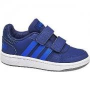 Adidas Blauwe Hoops 2.0 adidas maat 34