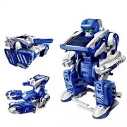 Educational 3 in 1 Solar Power Energy Robot Toy Kit for Learning Purpose (3 in 1)