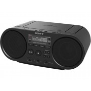 Sony Radio Boombox c/ Lector CD SONY Boombox ZS-PS50 (Negro - Digital - AM/FM - Pilas)