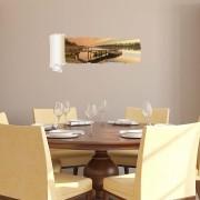 Sticker decorativ de perete Wall 3D, 259DWL1080, 95 x 40 cm