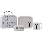 Design Letters Tritan Tableware Giftbox Y