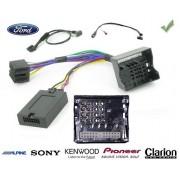 COMMANDE VOLANT Ford Fiesta 2002-2008 - Pour JVC complet avec interface specifique