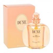 Christian Dior Dune eau de toilette 100 ml donna scatola danneggiata