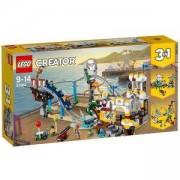 Конструктор Лeго Криейтър - Пиратско скоростно влакче, LEGO Creator, 31084