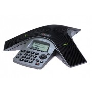 Polycom SoundStation Duo dual-mode conference phone including Power Supply, Power Cord with CEE 7/7 plug, Power Injection Module (PIM) with 6.4m combined PSTN/Cat5 cable, 2.1m PSTN cable, local PSTN a