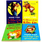 The Book Bundle Anne Fine The Killer Cat 4 Books Collection Set Pack RRP £19.96 (The Killer Cat Strikes Back Anne Fine, The Diary of a Killer Cat Anne Fine, The Kille