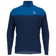 Odlo - Midlayer 1/2 Zip Ceramiwarm Element - T-shirt technique taille M, bleu