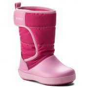 Апрески CROCS - Lodgepoint Snow Boot K 204660 Candy Pink/Patry Pink