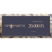 VIP-Parfüm ajándékutalvány 20,000 Ft értékben