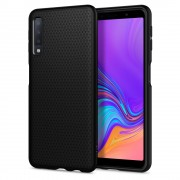 Husa slim Spigen Liquid Air Samsung Galaxy A7 (2018) Black