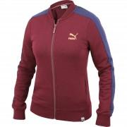 Jacheta femei Puma T7 Track Jacket Winetasting 57128905