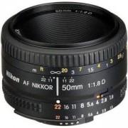 Обектив Nikon AF Nikkor 50mm f/1.8D Lens for DSLR Cameras