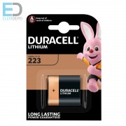 Duracell DL-CR 223 Lithium Ultra 6V CRP2 BL1