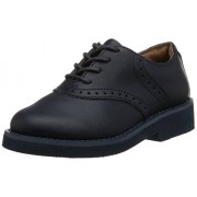 SCHOOL ISSUE Upper Class 7300 Saddle Shoe (Toddler/Little Kid/Big Kid), Navy, 7.5 W US Toddler