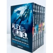 Alex Rider 6 Book pack Adventure Series Kids Stormbreaker Anthony Horowitz New