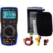 HOLDPEAK 760A Digitális multiméter VAC VDC AAC ADC ellenállás kapacitás dióda hFE szakadás.