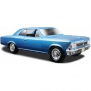 Maisto Die Cast 1:24 Scale Metallic Blue 1966 Chevrolet Chevelle SS 396 (color may vary) diecast car