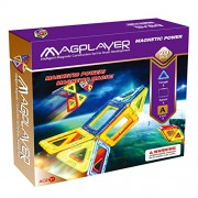 Magplayer Magplayer 20 piece trial set Magformer MAGFORMERS Magnet block educational toy nurture creativity imagination magnets (20 pieces)