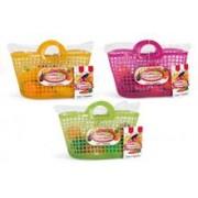 Set Alimente Fructe Si Legume Plastic In Cosulet Cumparaturi