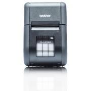 Imprimanta mobila robusta cu ecran LCD pentru chitante de 58mm latime/etichete de 55mm. Conexiuni Wi-Fi si AirPrint Brother