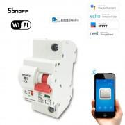 eWeLink WiFi inteligentný Istič 1P 20A