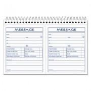 Spiralbound Message Book, 4 1/4 X 5, Carbonless Duplicate, 200 Sets/book