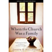 When the Church Was a Family: Recapturing Jesus' Vision for Authentic Christian Community, Paperback