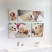 smartphoto Postertavla Galleri 7 Panel Moln 30 x 45