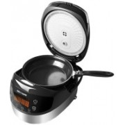Redmond RMK-M911E Air Fryer, Rice Cooker, Food Steamer, Slow Cooker, Egg Cooker, Deep Fryer, Egg Boiler(5 L, Black)