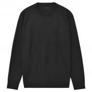 vidaXL Kerek nyakú férfi pulóver/szvetter fekete XL-es