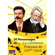 Surfin Meeple 50 Personnages de La litterature Francaise du 19eme siecle