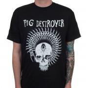 tričko pánské Pig Destroyer - Prescott - Black - INDIEMERCH - INM036