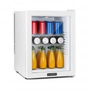 Klarstein Brooklyn 42 White, Mini frigider, clasa energetică A, ușă de sticlă, LED, raft, alb (HEA-Brooklin-50Wht)