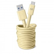 Fresh &Apos;N Rebel Fabriq USB Type-C Cable 3m Buttercup