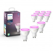 Philips Hue GU10 White and Color, 12-pack