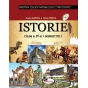 Istorie. Manual pentru clasa a IV-a sem I+sem II contine editie digitala - Alina Pertea Doina Burtea