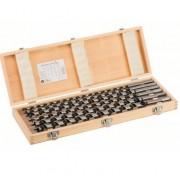 Bosch 6-delni set spiralnih burgija za drvo - 385 mm