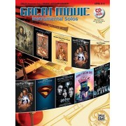 Alfred Music Great Movie Instrumental Solos – Cello (Book & CD)