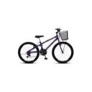 Bicicleta Colli Allegra City Aro 24 Aero 21 Marchas - 113.17d