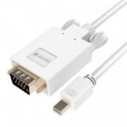 Кабел Orico MPV-M10, от Mini DisplayPort(м) към VGA(м), 1м, бял, до Full HD резолюция,